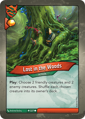 Card image for Lost in the Woods