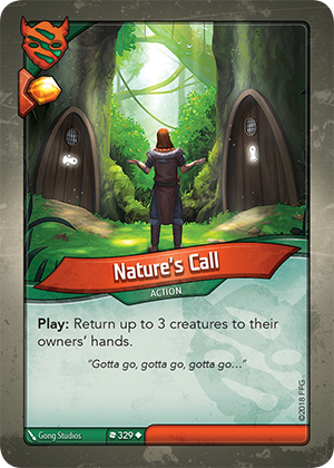 Card image for Nature's Call