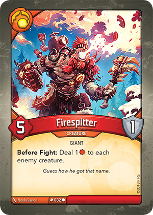 Card image for Firespitter