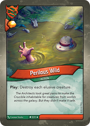 Card image for Perilous Wild