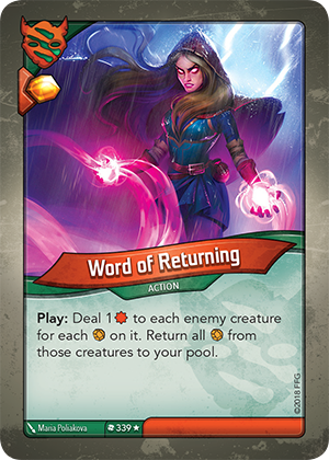 Card image for Word of Returning