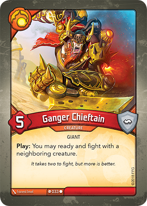 Card image for Ganger Chieftain