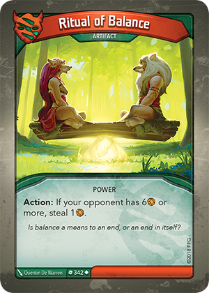 Card image for Ritual of Balance