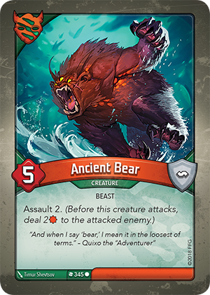 Card image for Ancient Bear