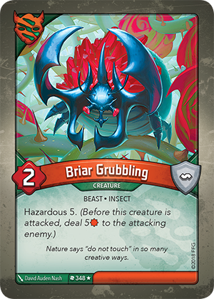 Card image for Briar Grubbling