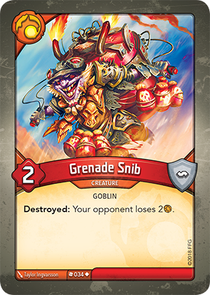 Card image for Grenade Snib