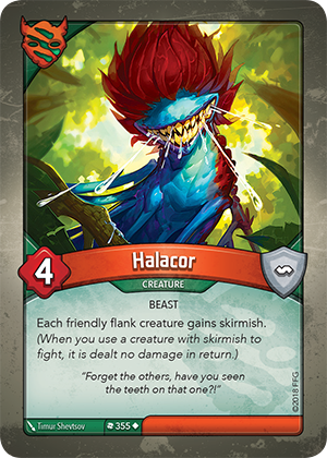 Card image for Halacor