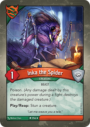 Card image for Inka the Spider