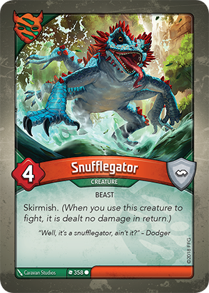 Card image for Snufflegator