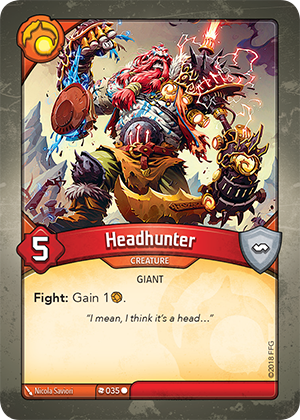 Card image for Headhunter
