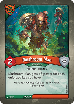 Card image for Mushroom Man