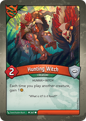 Card image for Hunting Witch