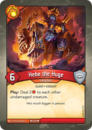 Card image for Hebe the Huge
