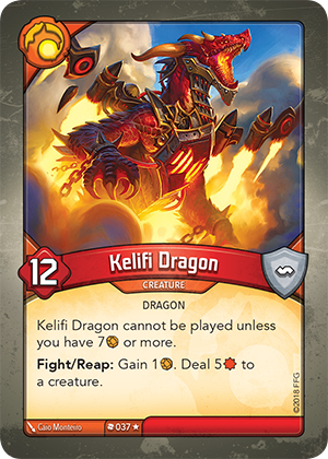 Card image for Kelifi Dragon