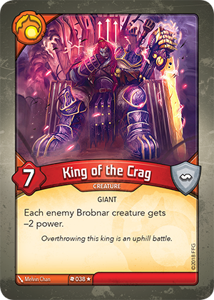 Card image for King of the Crag