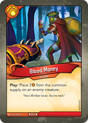 Card image for Blood Money
