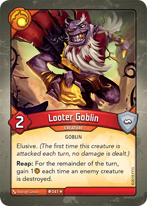 Card image for Looter Goblin