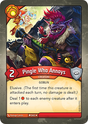 Card image for Pingle Who Annoys