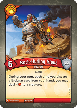 Card image for Rock-Hurling Giant