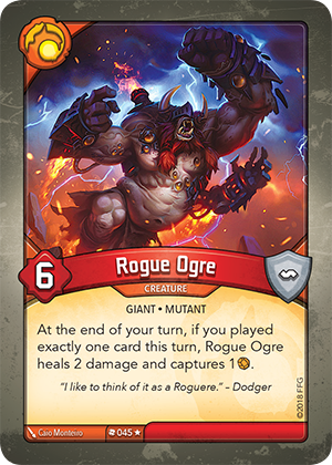 Card image for Rogue Ogre
