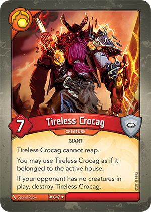Card image for Tireless Crocag