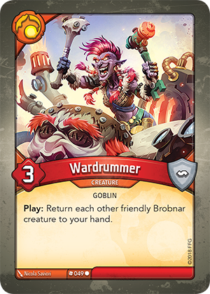 Card image for Wardrummer