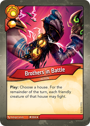 Card image for Brothers in Battle