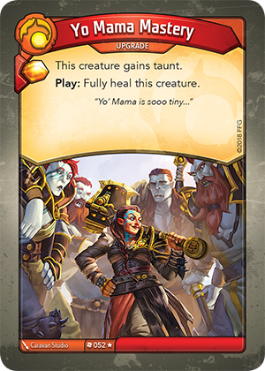 Card image for Yo Mama Mastery