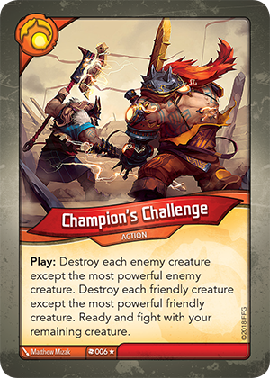 Card image for Champion's Challenge
