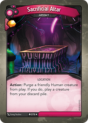 Card image for Sacrificial Altar