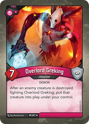 Card image for Overlord Greking