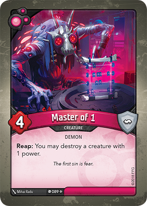 Card image for Master of 1