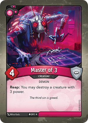 Card image for Master of 3