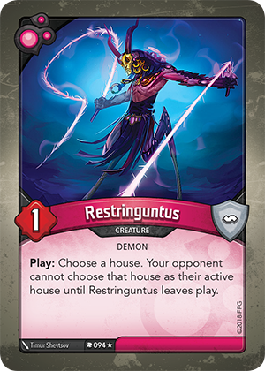 Card image for Restringuntus
