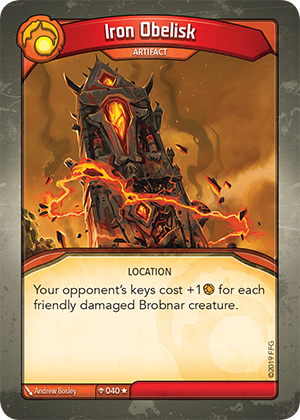 Card image for Iron Obelisk