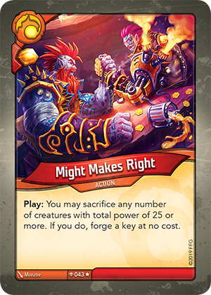 Card image for Might Makes Right