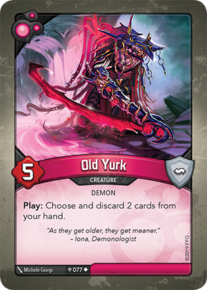 Card image for Old Yurk