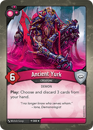 Card image for Ancient Yurk