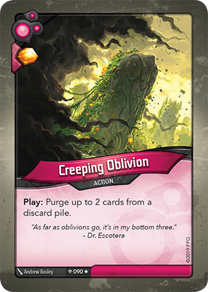 Card image for Creeping Oblivion