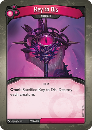 Card image for Key to Dis