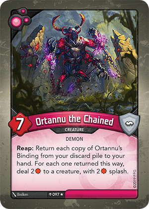 Card image for Ortannu the Chained