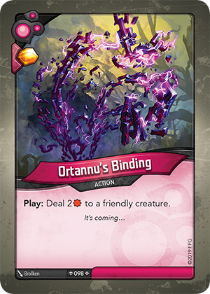 Card image for Ortannu's Binding