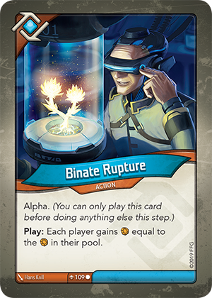 Card image for Binate Rupture