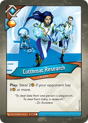 Card image for Cutthroat Research