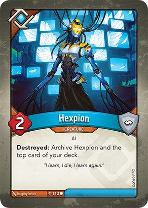 Card image for Hexpion
