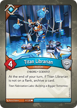 Card image for Titan Librarian