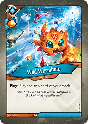 Card image for Wild Wormhole