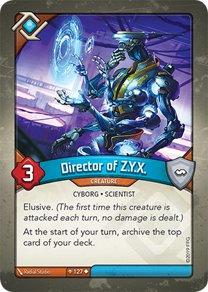 Card image for Director of Z.Y.X.