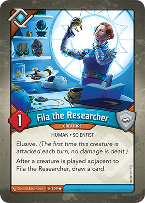 Card image for Fila the Researcher