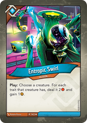 Card image for Entropic Swirl